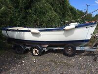 18' Plymouth pilot fishing boat