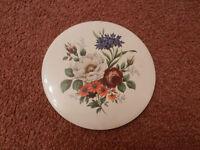Flowers Display Plate