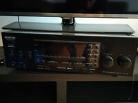 Kenwood Audio receiver / amp + 2 mission speakers