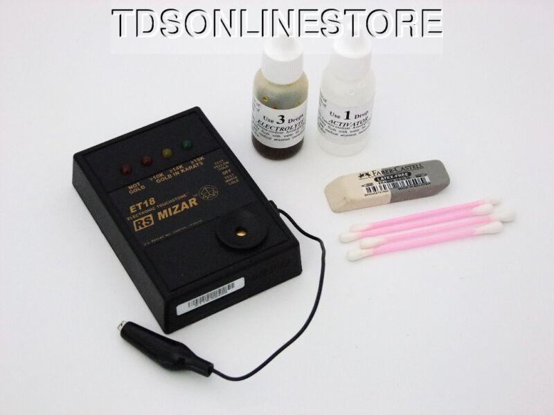 Mizar Electronic Gold Tester Kit For 10 To 18k Gold