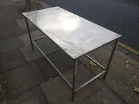 """Stainless Steel Table - 60"""" x 30"""" x 33"""""""