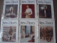 21 Antique Our King and Queen Magazines 1929