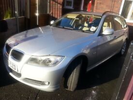 BMW 318i SE Silver, Heated leather seats BARGAIN PRICE