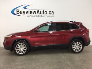 2017 Jeep Cherokee Limited - REM START! PANOROOF! HTD/AC LTHR...