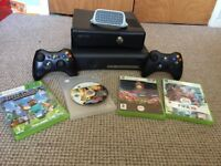 2 Xbox 360's with controllers and games