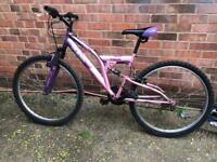 Woman's mountain bike
