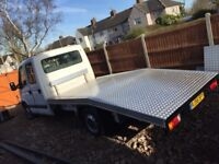 Renault master crew cab recovery truck