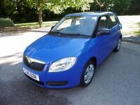 Skoda Fabia LEVEL 1 HTP AIR CON (blue) 2010