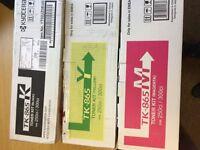 Genuine 3 Colour Kyocera TK-865 Toner Cartridges