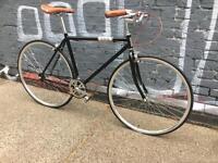 BRAND NEW VINTAGE FIXED GEAR BIKE SINGLE SPEED FREE WHEEL-FIXIE ROAD BIKE -hybrid bike 9kg