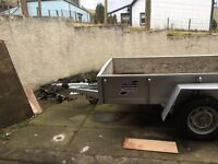 Ifor Williams GD105G/DR twin axle trailer