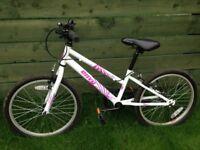 """Girls apollo envy 20"""" bike"""