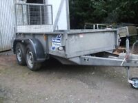 Ifor Williams GD84 2012 4 new tyres excellent trailer