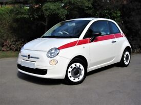 Fiat 500 pop, not only £30 road tax, it has upgraded chrome trims and side detailing
