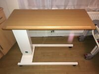 Sidhil Easi Riser Overbed Height Adjustable Table