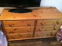 Great condition pine sideboard