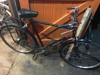 Gents rod brake town Bike. 1976. Serviced, Good condition. Free Lock, Lights & Delivery.
