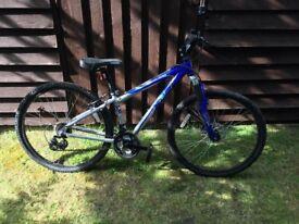 "Apollo XC26 mountain bike, 14 inch frame (9yrs - young teen 25""-27"" inside leg), 26 inch wheels"