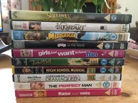 Bundle Of Childrens DVDs For Sale