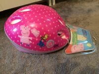 Brand new still in original packaging pepper pig helmet too fit 48-52cm
