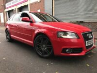 Audi A3 2009 2.0 TDI S Line Sportback 5 door HUGE SPEC, UPGRADED SEATS AND ALLOYS, BARGAIN
