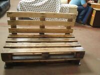 Hand made Upcycled Garden Pallet Bench