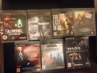 Bundle of PS3 games Hitman Triology, Mass Effect Trilogy, BioSHOCK and more!
