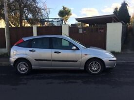 Ford focus LX hatchback 1.6 for sale, MOT, service history, drives nice.