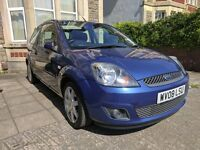 Ford Fiesta 1.25 Zetec Blue Edition 3dr (07 - 09)