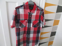 MEN'S CLOTHING - SIZE S,M&L - SHIRTS/TOPS/SHORTS - H&M/TOPMAN/DIESEL - FROM £2.50 - VGC