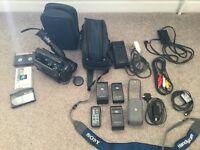 sony video Camera Recorder Hi 8 CCD-TR705E Video Hi8 Handycam