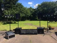 PA rental - INCL sound engineer & lights *PARTIES* *WEDDINGS* *LIVE GIGS* *ANY EVENT BIG OR SMALL*
