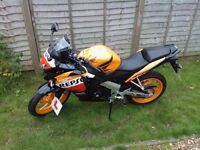 Honda CBR 125 Repsol Colours - Great Condition Low Mileage £2000 ONO