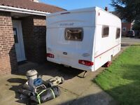 Lunar 2004 year,2 berth,all extras,awning,chris reg,clean,fresh,dry,light weight caravan