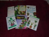 Selection Of Books On House Plants Hard Back / Paper Back
