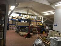 Workshop unit available to rent