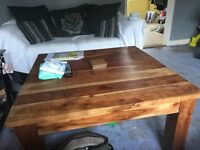 Solid African Oak Coffee Table
