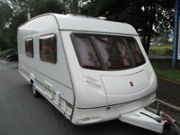 Ace jubilee 2002 4 berth clean family caravan all ready to start touring