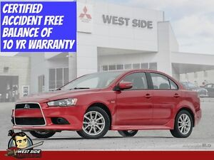 2015 Mitsubishi Lancer SE–Accident Free–FWD–2.0L–$57/Weekly