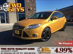 2012 Ford Focus SE AUTO LOW KMS LEASE RETURN!!!