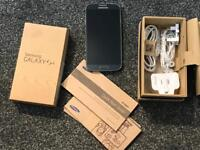Samsung Galaxy mobile phone S4 boxes complete