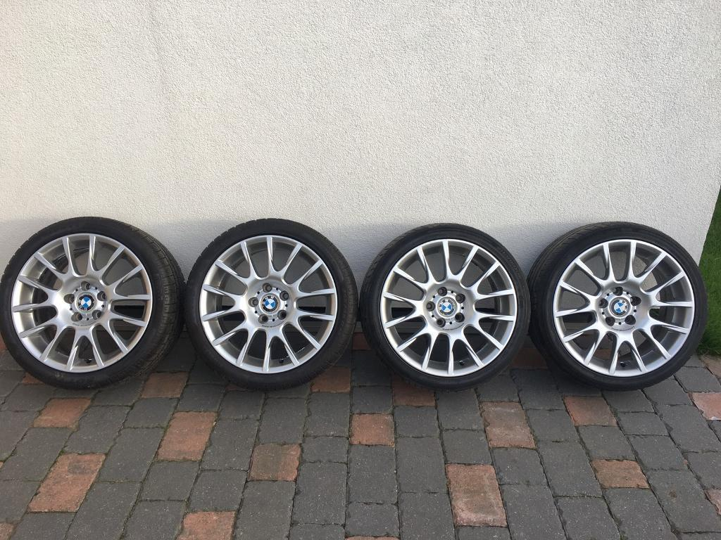 "18"" BMW BBS genuine alloys"