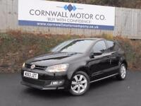 VOLKSWAGEN POLO 1.2 MATCH EDITION 5d 59 BHP GOOD HISTORY+RECENT SE (black) 2013