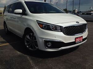 2015 Kia Sedona SXL+, Navi, Double Roof, 360 Camera, Leather Rec