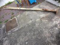 Free washing line poles