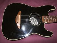 Fender Stratacoustic Guitar / Black