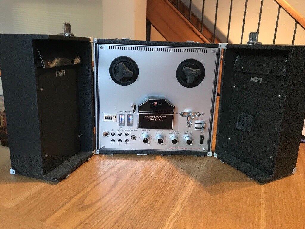 Sanyo MR 929 Vintage Tape Recorder