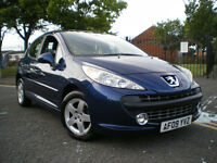*** Peugeot 207 1.4 Sport 5dr *** EXCELLENT CONDITION* 3 MONTHS WARRANTY INCLUDED***
