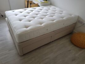 John Lewis 1400 ortho double mattress and divan bed base
