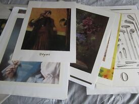 Job lot of 200+ large posters and prints